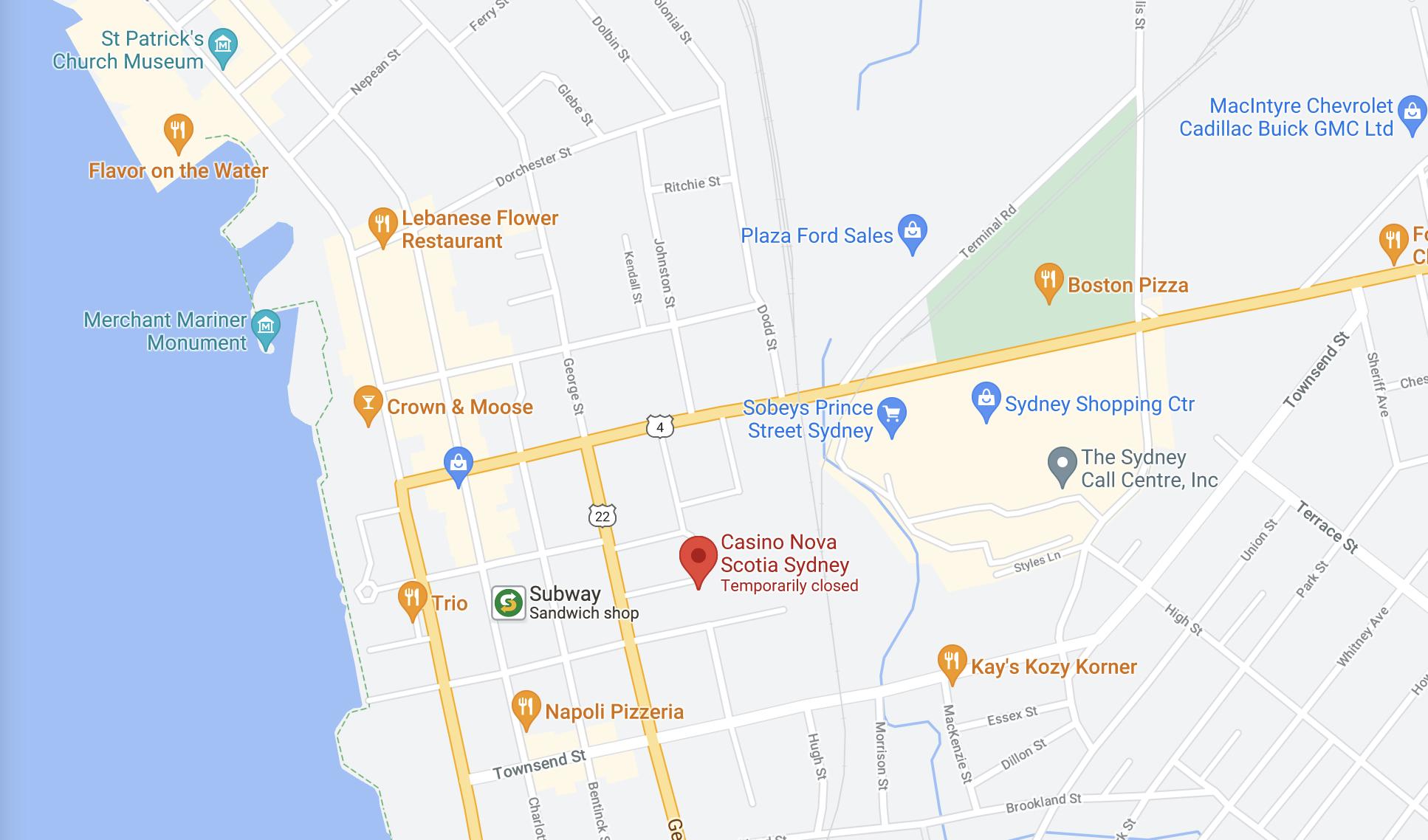 Find Casino Nova Scotia Sydney